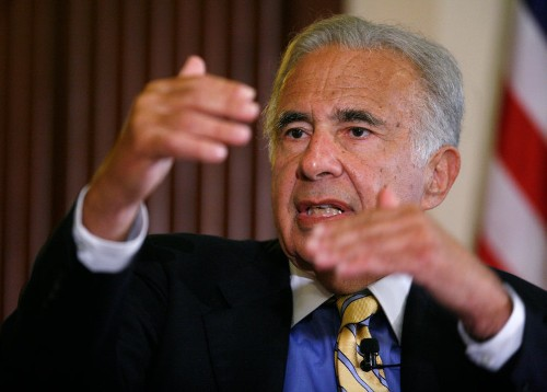 CARL ICAHN: 'God knows where this is going. It's very dangerous and could be disastrous.'