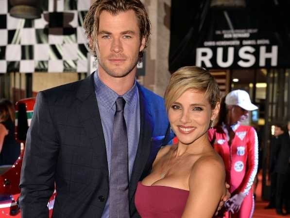 Chris Hemsworth's Wife Stood In For Natalie Portman During 'Thor' Kissing Scene