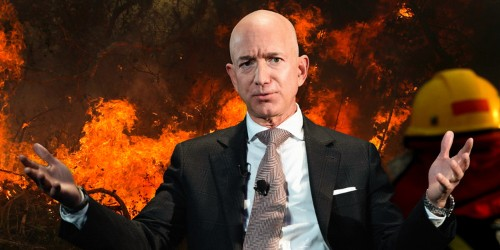 People are asking Jeff Bezos to save the burning Amazon rainforest
