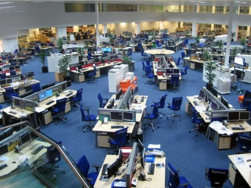 7 Ways The Open Office Is A Worker's Worst Enemy