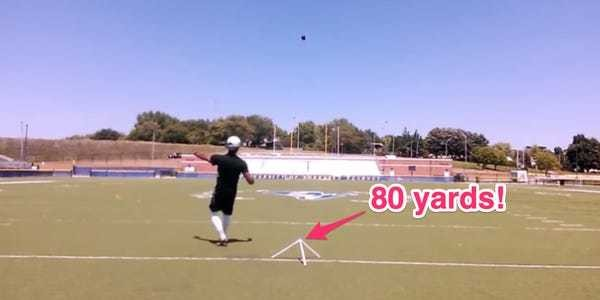 The Patriots signed a 'trick-shot' kicker who can kick an 80-yard field goal - Business Insider