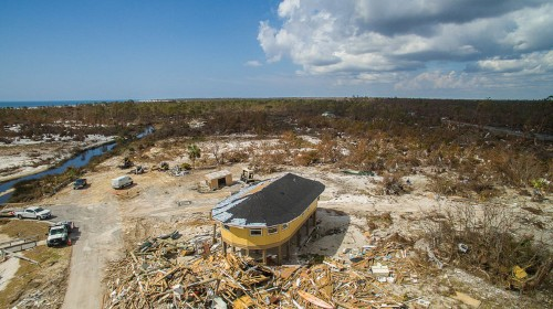 Round homes can survive major hurricanes like Dorian
