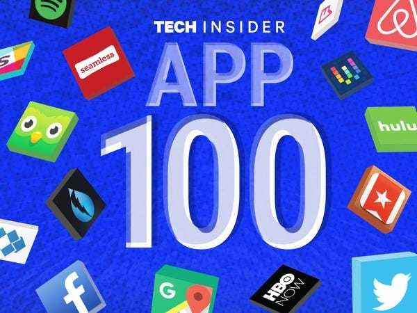 The App 100: The world's greatest apps - Business Insider