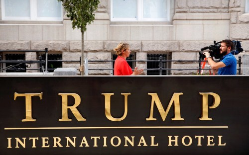 Trump's hotels actually seem to be doing fine
