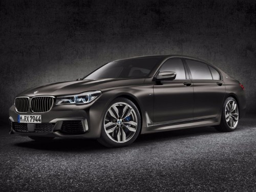 BMW just unleashed its second 600-horsepower luxury limo in a week