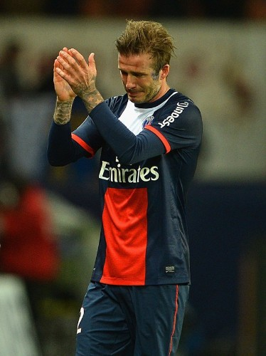 David Beckham Left The Field In Tears In His Last Soccer Game Ever