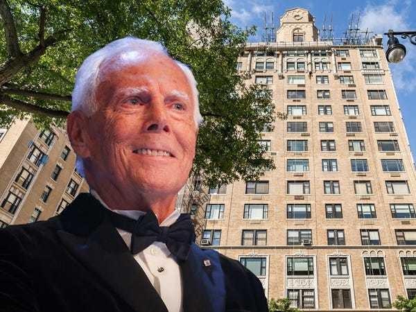 Giorgio Armani buys historic multimillion-dollar Manhattan penthouse - Business Insider