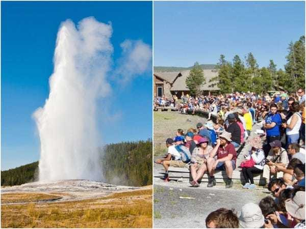 Disappointing photos show what 22 famous US attractions look like in real life - Business Insider