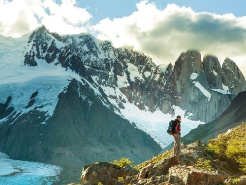 I hiked to the 'edge of the world' and stayed at the famous explora Patagonia lodge — here's what it was like