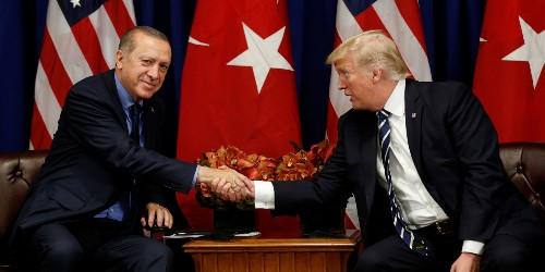 Trump thought Turkey bluffed about invading Syria: Axios - Business Insider