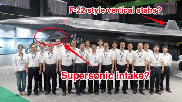 China just showed it has a new 'Dark Sword' fighter jet — and it's a nightmare for the US - Business Insider