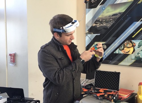 We went to the 'NASCAR for drone races' — here's what it was like