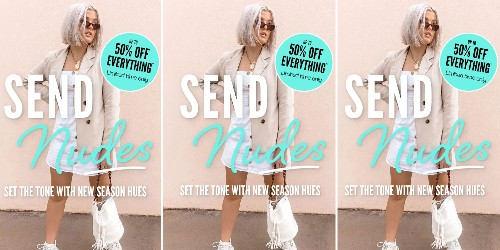 Boohoo ad banned over 'send nudes' strapline for skin-tone clothes - Business Insider