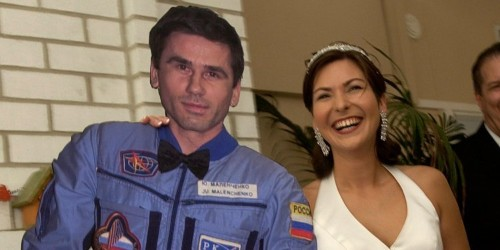 First space wedding: A bride on earth wed her husband on the ISS