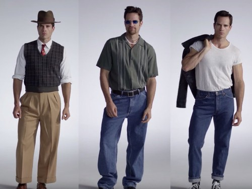 100 years of American men's fashion, in pictures