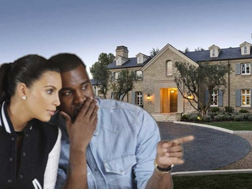 Kim Kardashian And Kanye West Are Not Flipping Their New $20 Million LA Mansion
