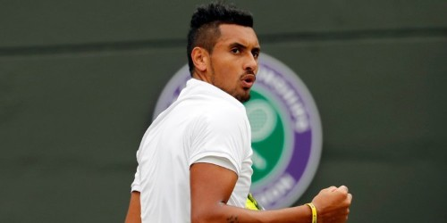 Nick Kyrgios' antics, meltdowns, talent make him tennis' bad boy, star