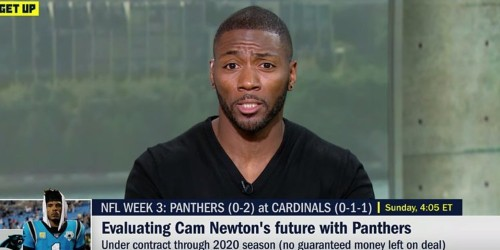 """Ryan Clark rips Paul Finebaum on """"Get Up"""" over Cam Newton comments"""