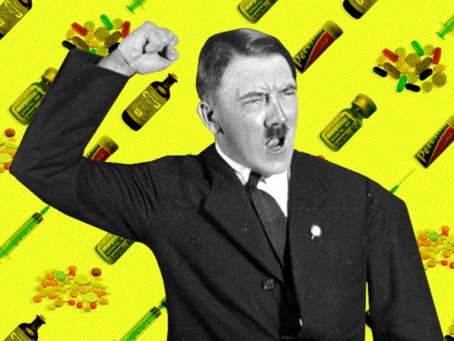 Hitler may have been a 'gibbering super junkie' drug addict throughout World War II