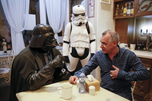 This man lives his life as Darth Vader — and the photos are incredible