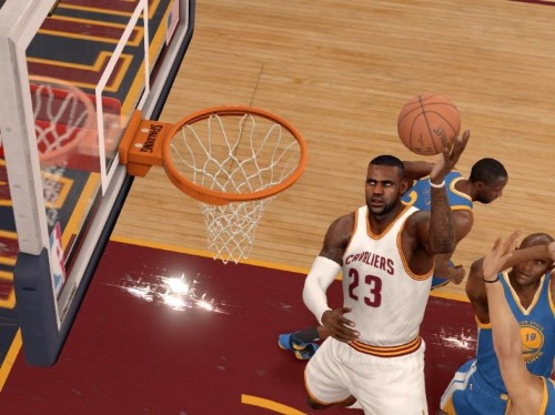 The new NBA Live video game is less fun than getting beat up in gym class