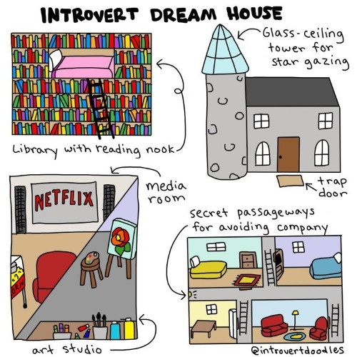 10 illustrations that sum up what life is like for introverts