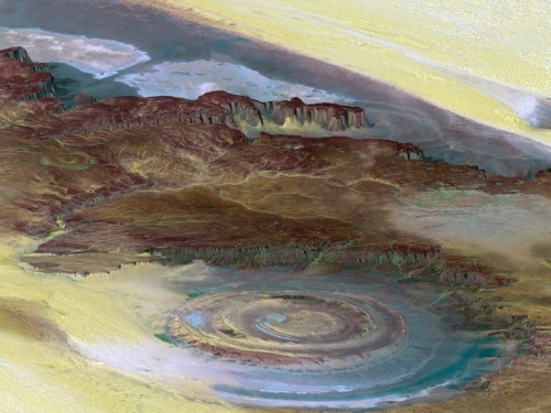 Scientists still have questions about the mysterious Eye of the Sahara