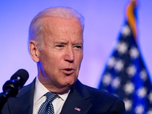 Joe Biden gave an unexpected response to a protester who said his friends died in combat in Syria
