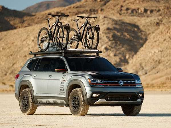 Volkswagen unveiled 4 custom cars for SEMA that are ready for outdoor adventures - Business Insider