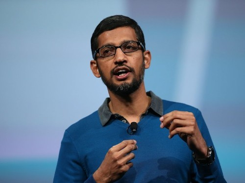It was 'very clear' that Sundar Pichai was being 'groomed for CEO,' former Google employee says
