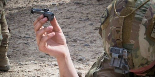 US soldiers in Afghanistan are patrolling like never before with these awesome pocket-sized spy drones