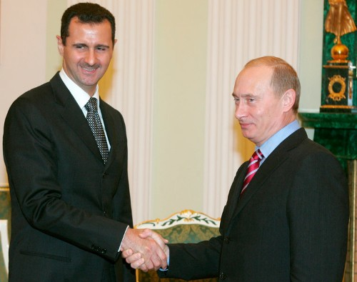 Putin is going by a familiar playbook in Syria