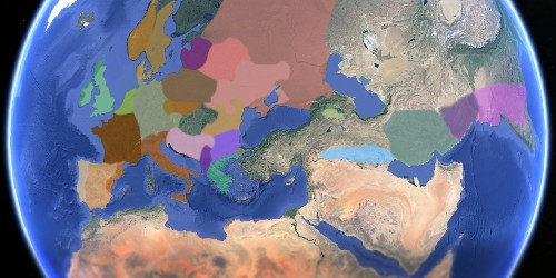 This Animated Map Shows How European Languages Evolved