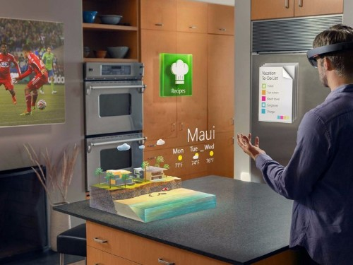 Microsoft explains how its augmented reality headset HoloLens is going to work