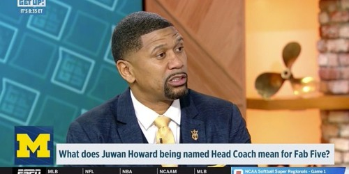 Juwan Howard Michigan hiring will squash Fab 5 beef, Jalen Rose says