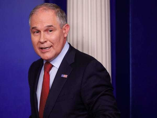 GOP senators advance Trump EPA nominees over Dems' objection - Business Insider