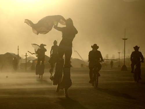 How the ultra-wealthy attend Burning Man: private jets, personal chefs