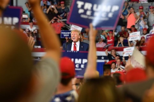 Trump campaign has a new smartphone app to rally his supporters