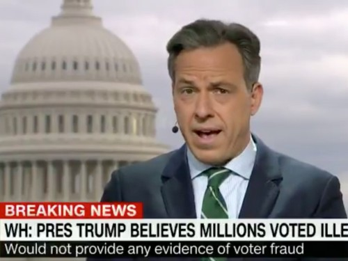 Jake Tapper issued the strongest takedown yet of Trump's baseless voter-fraud claims