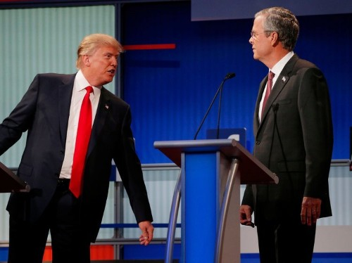 Donald Trump ripped the Bush dynasty 33 times in a 35-minute interview
