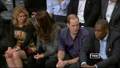Prince William And Kate Got A Very American Welcome At NBA Game
