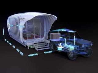 This amazing 3d-printed home and car can charge each other - Business Insider
