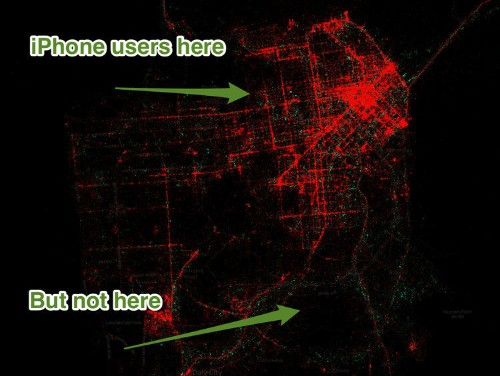 These Maps Show That Android Is For Poor People