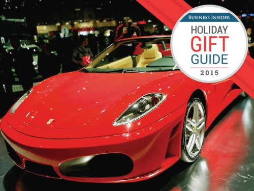 11 ridiculous gifts for the millionaire who has everything