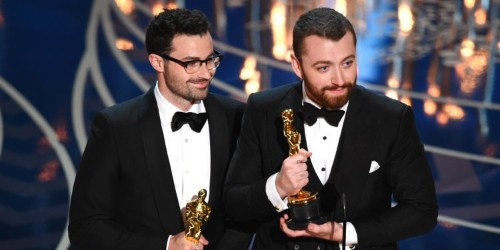 No, Sam Smith isn't the first openly gay man to win an Oscar