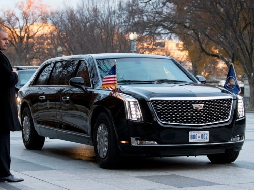 Donald Trump, Kim Jong Un limousines compared, photos