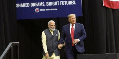 'Howdy, Modi!' India's prime minister joins Trump at rally and touts him as a 'true friend'