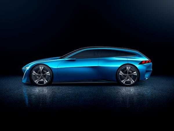 Peugeot unveiled a stunning concept car that can drive itself - Business Insider
