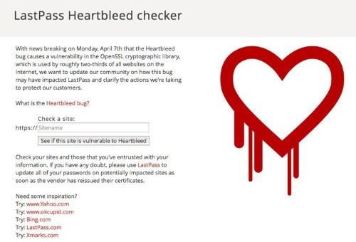 Find Out Instantly If A Site Has Been Infected By 'Heartbleed'
