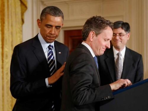REPORT: Tim Geithner Will Not Seek Fed Chair